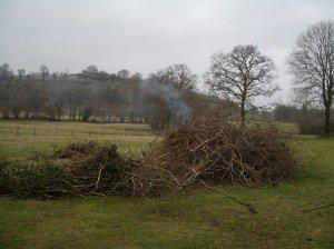 bonfire start
